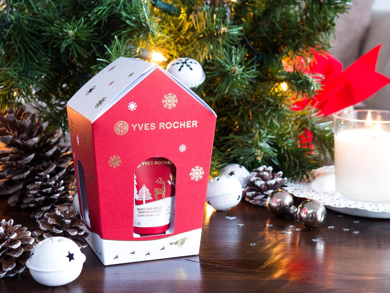 Yves Rocher kolekcja świąteczna owoce leśne oraz wanilia i bergamotka