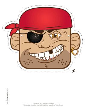 Mascara De Piratas Para Imprimir Gratis Ideas Y Material Gratis
