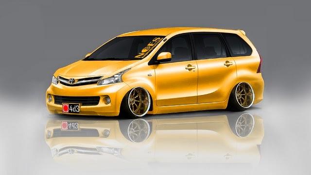 Modifikasi mobil Toyota Avanza JDM