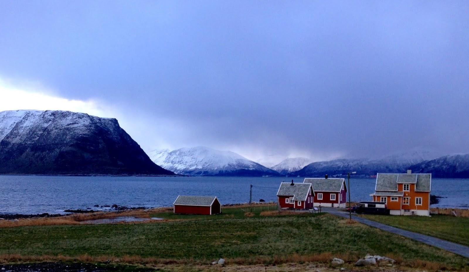 Surowy klimat, czyli Godoya i Alesund zimą