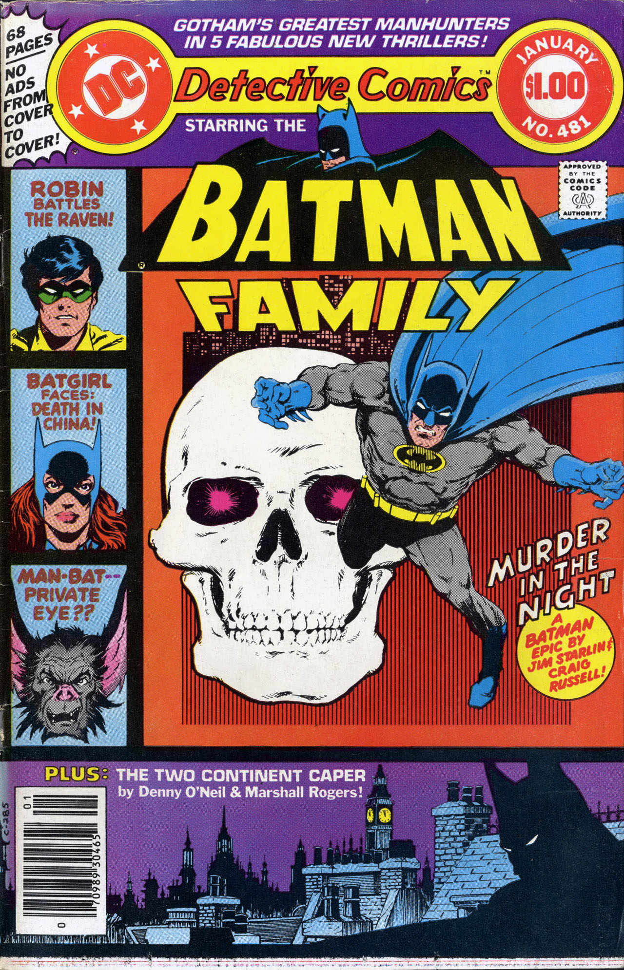 Detective Comics (1937) 481 Page 0