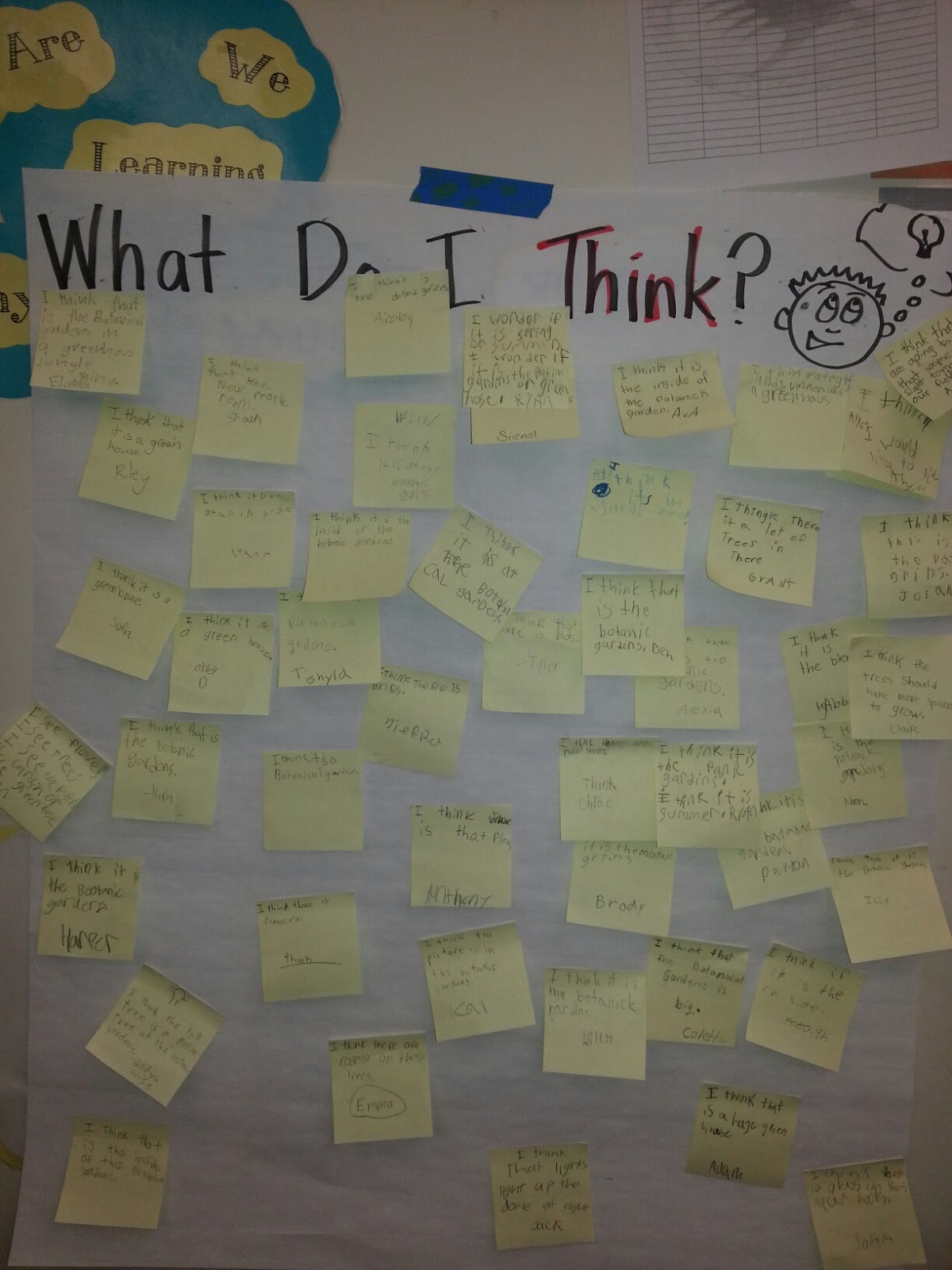 Visible Thinking Routines Smith Willett 2nd Grade