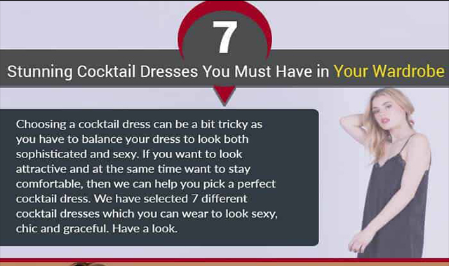 7 Stunning Cocktail Dresses You Must Have In Your Wardrobe
