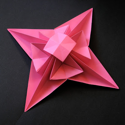 Origami 3D Star