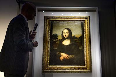 Mona Lisa, museo, Da Vinci, vidrio protector