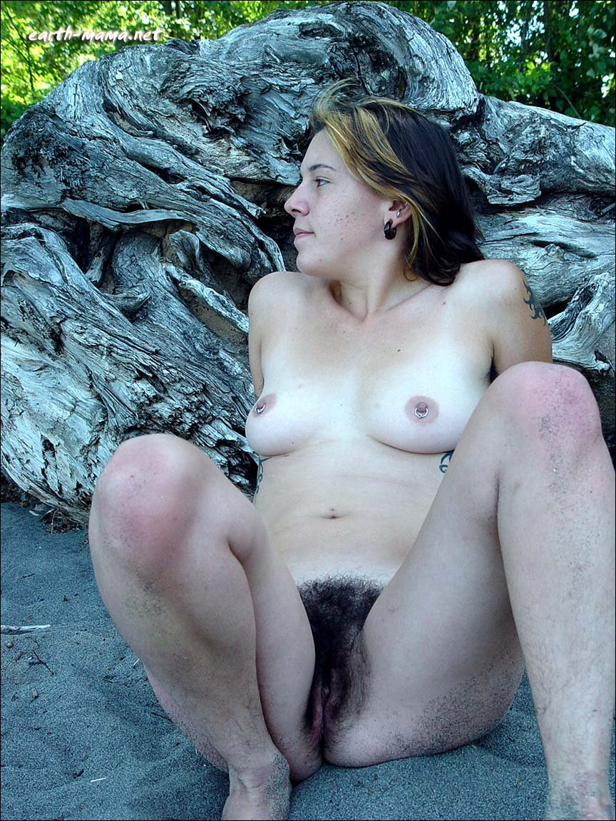 Mature, Hairy Hippie With Very Full Bushtreasure Trail, And Armpit Hair