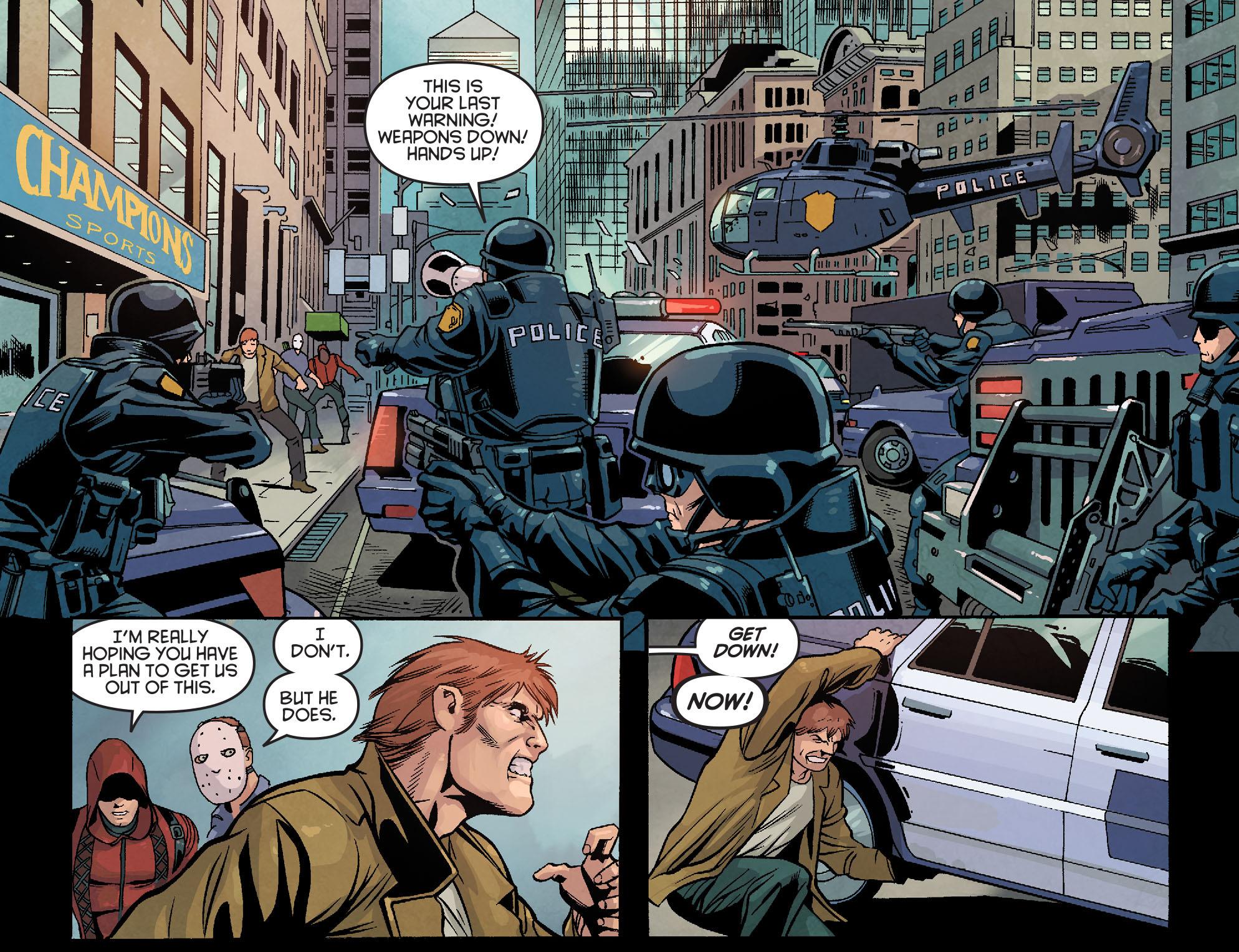 Read online Arrow: Season 2.5 [I] comic -  Issue #18 - 7