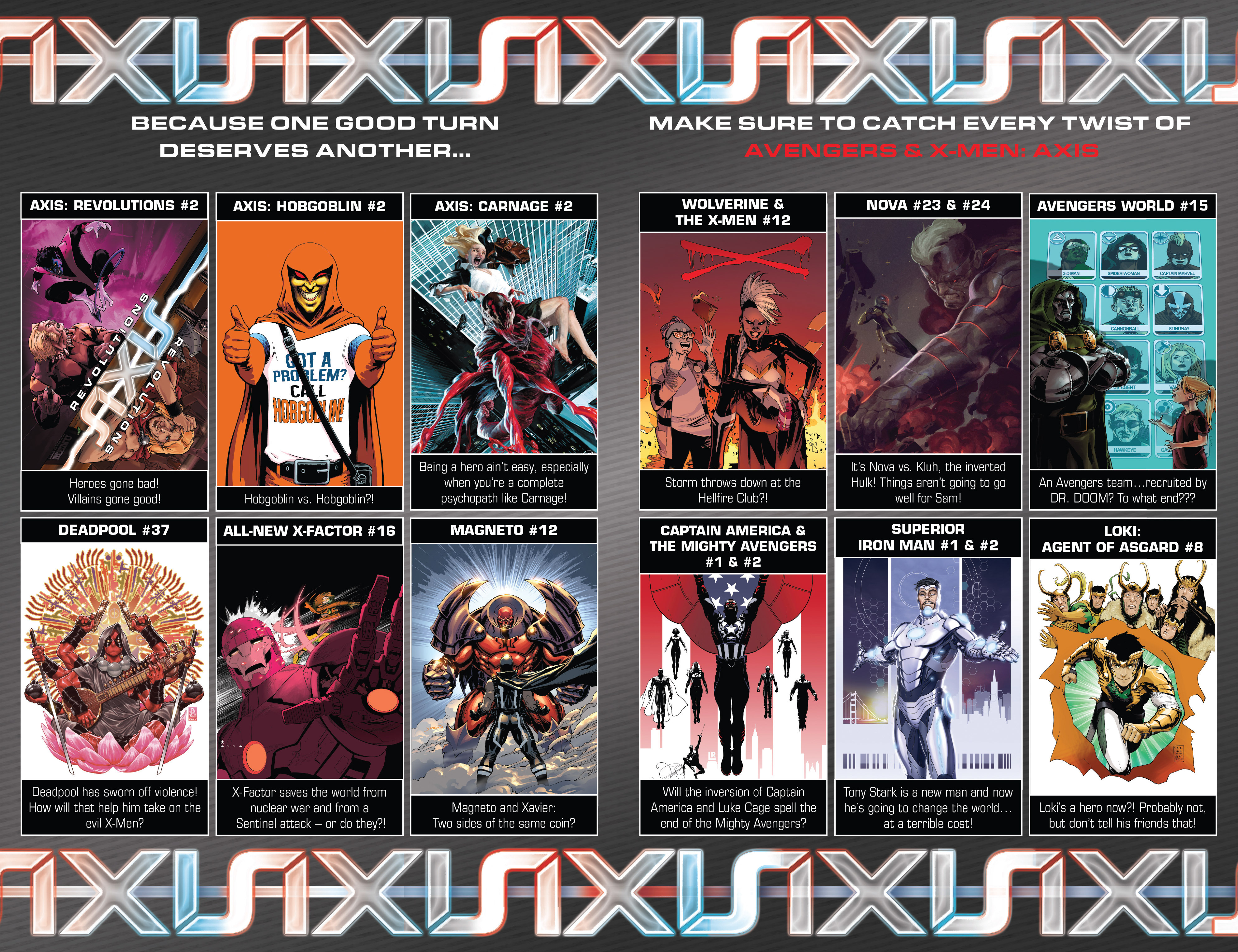 Read online Avengers & X-Men: AXIS comic -  Issue #5 - 23