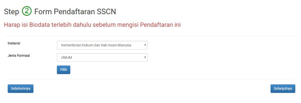 tata cara pendaftaran cpns 2018