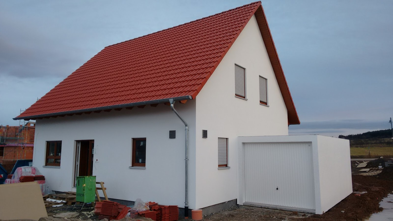 Our German Build With Allkauf Haus Screed And Garage