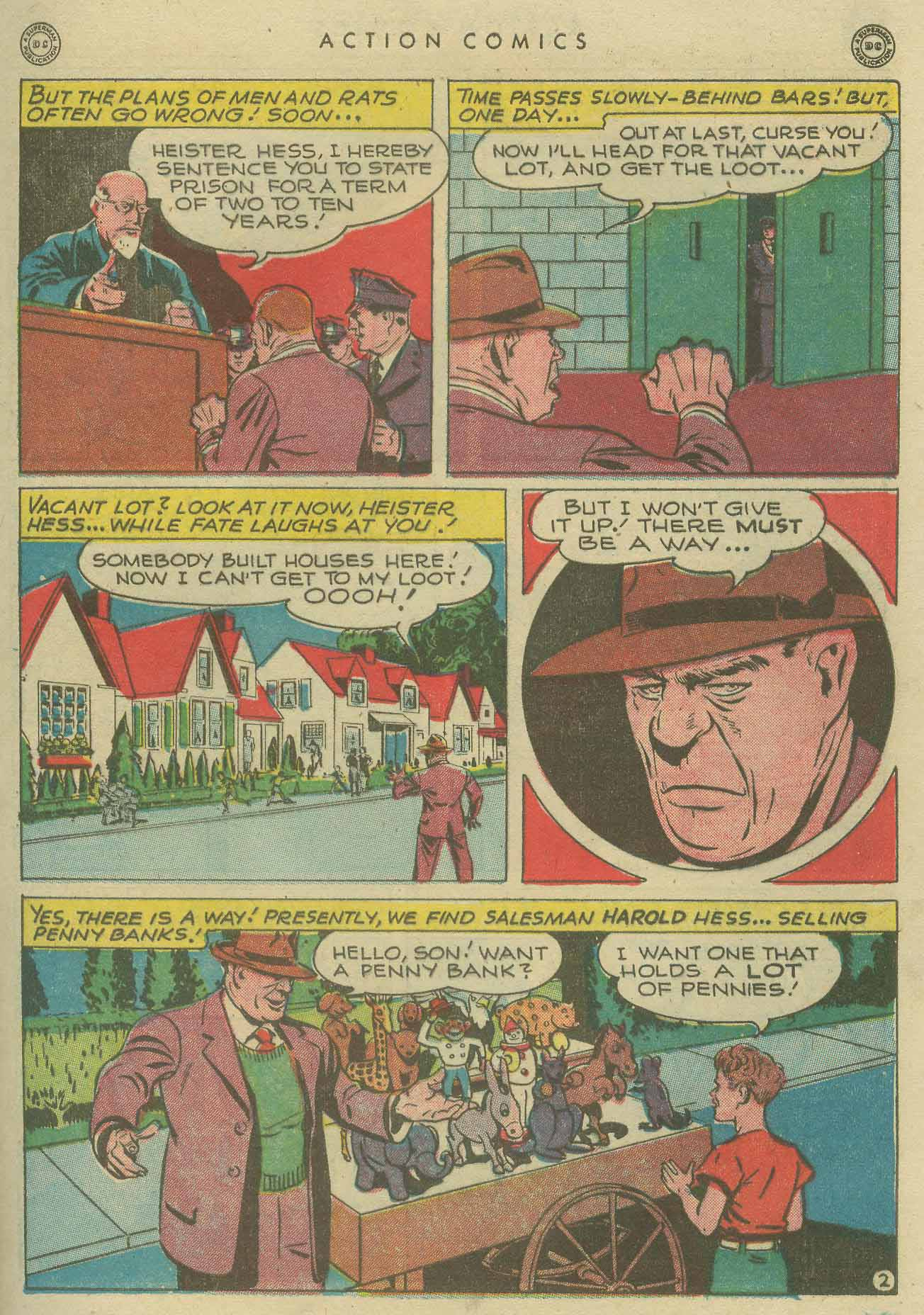 Read online Action Comics (1938) comic -  Issue #104 - 43