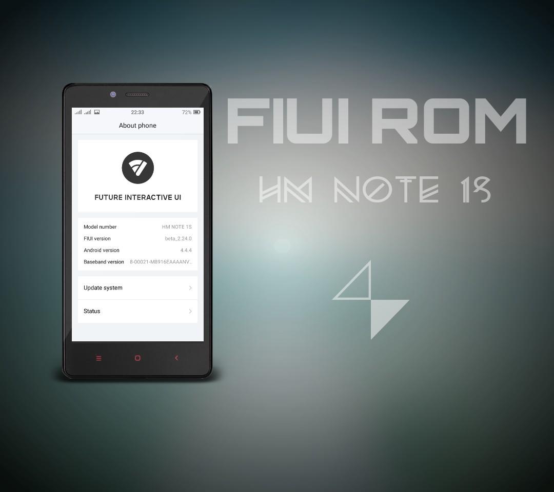 Custom Rom Redmi Note 1 4G — TTCT