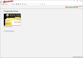 Tips Membuka Format File E-Book .chm Menggunakan Aplikasi Sumatra PDF