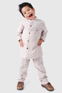 Model baju muslim anak laki-laki casual untuk lebaran maupun jalan-jalan