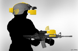 Wireless technology connects rifle sights to night vision goggles
