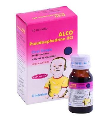 Alco Drop - Manfaat, Efek Samping, Dosis dan Harga
