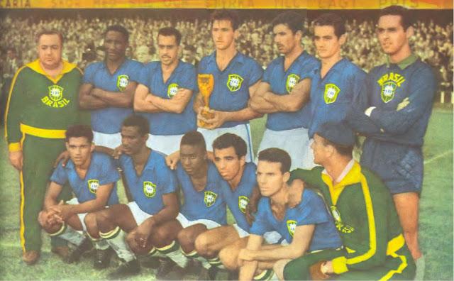 Resultado de imagem para brasil campeão da copa de 58