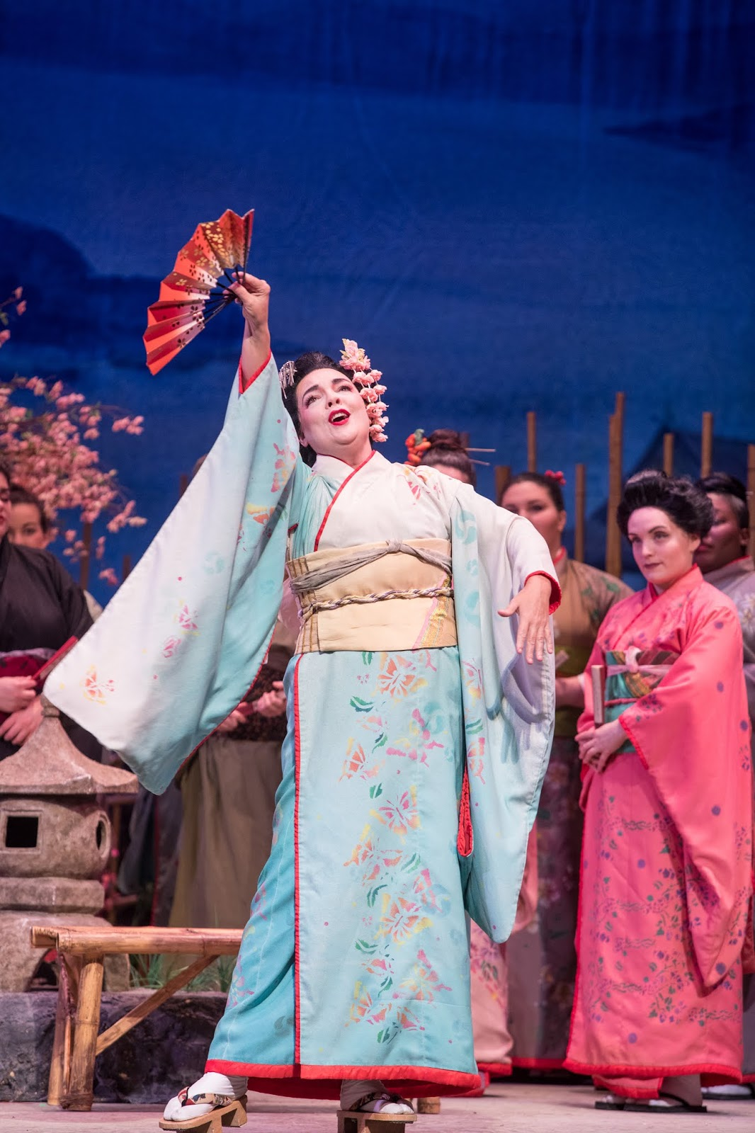 IN REVIEW: soprano JILL GARDNER as Cio-Cio-San in Greensboro Opera's production of Giacomo Puccini's MADAMA BUTTERFLY [Photo by Vanderveen Photography, © by Greensboro Opera]