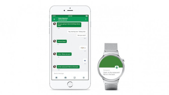 Android Wear can be controlled from the iPhone starting today