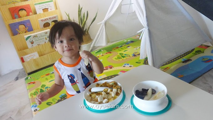 Baby-Led Weaning dengan OXO Tot Stick & Stay