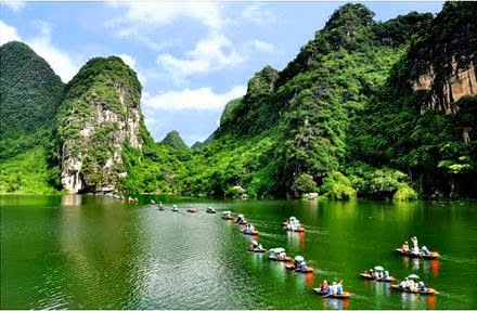 tam co bich dong ninh binh province, trang an beautiful photo, trang an natural heritage