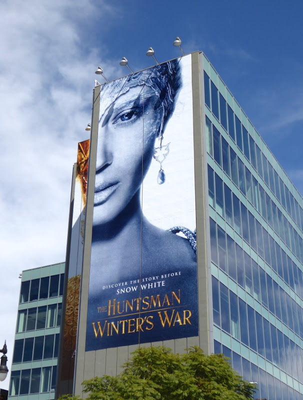 Huntsman Winters War film billboard