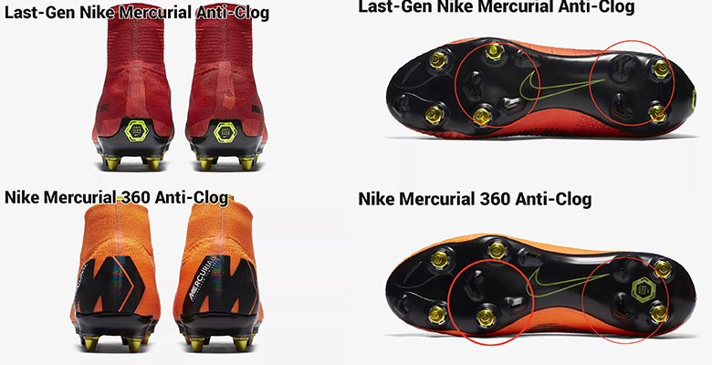 The next-generation Nike Mercurial Superfly   Vapor 360 2018 football boots  introduce an all-new Anti-Clog sole plate. Let us take a closer look at  Nike s ... bc5948799