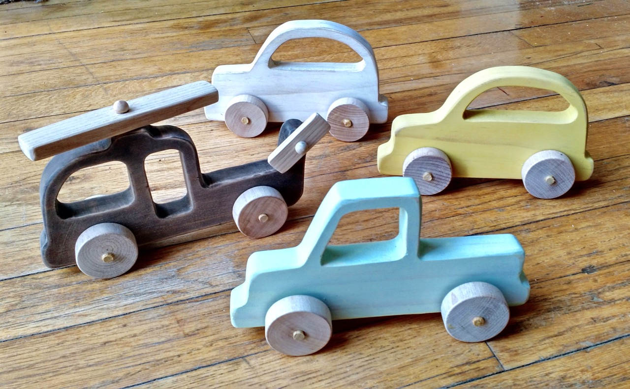 The Project Lady Diy Wooden Toy Vehicles Car Truck Helicopter