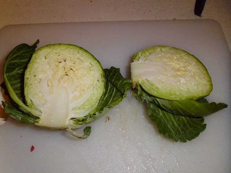 Split Cabbage