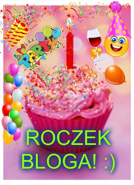 """Rok bloga! :)  Podsumowanie+moje przemyślenia """"blogowe"""" :)"""