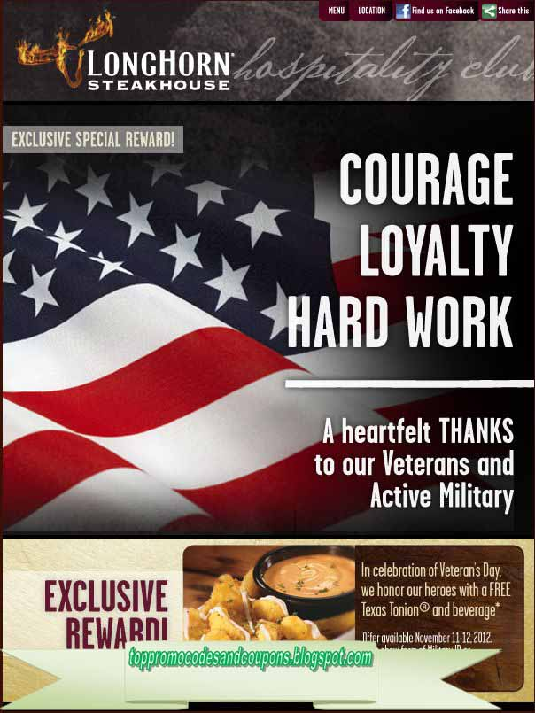 It is a picture of Terrible Longhorn Steakhouse Coupons Printable 2014