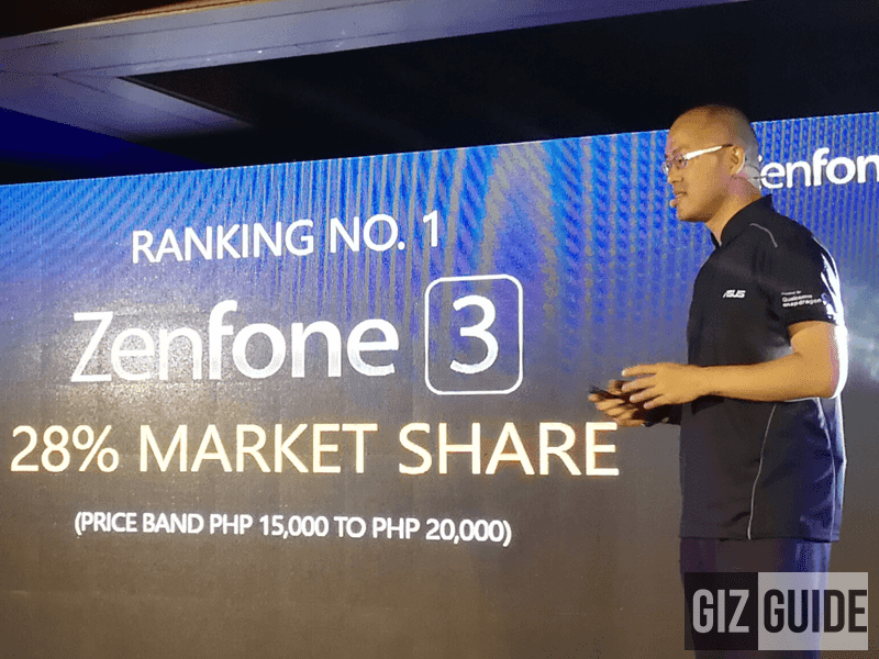 Asus ZenFone 3 Is The Best Selling Smartphone For Its Class In PH