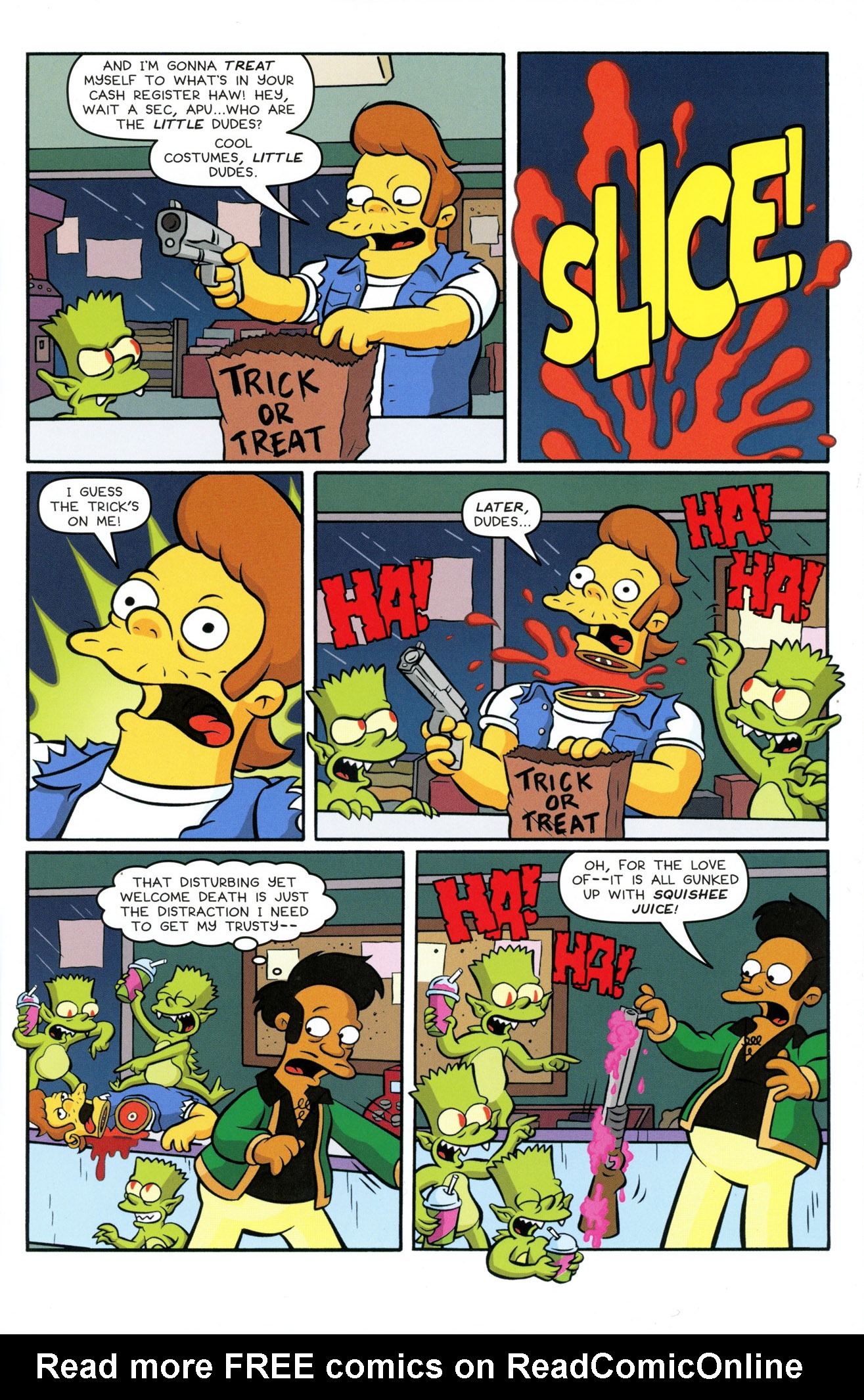Read online Treehouse of Horror comic -  Issue #21 - 7