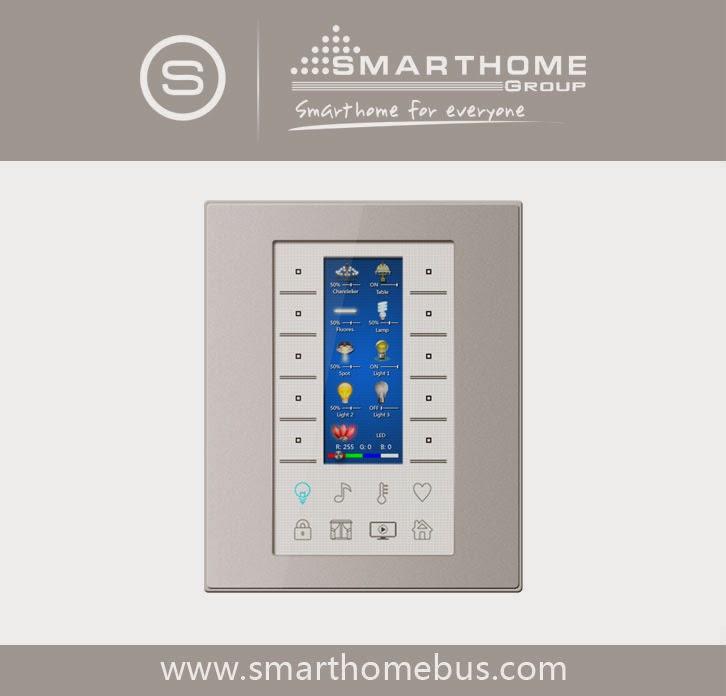 home automation system smart bus g4. Black Bedroom Furniture Sets. Home Design Ideas