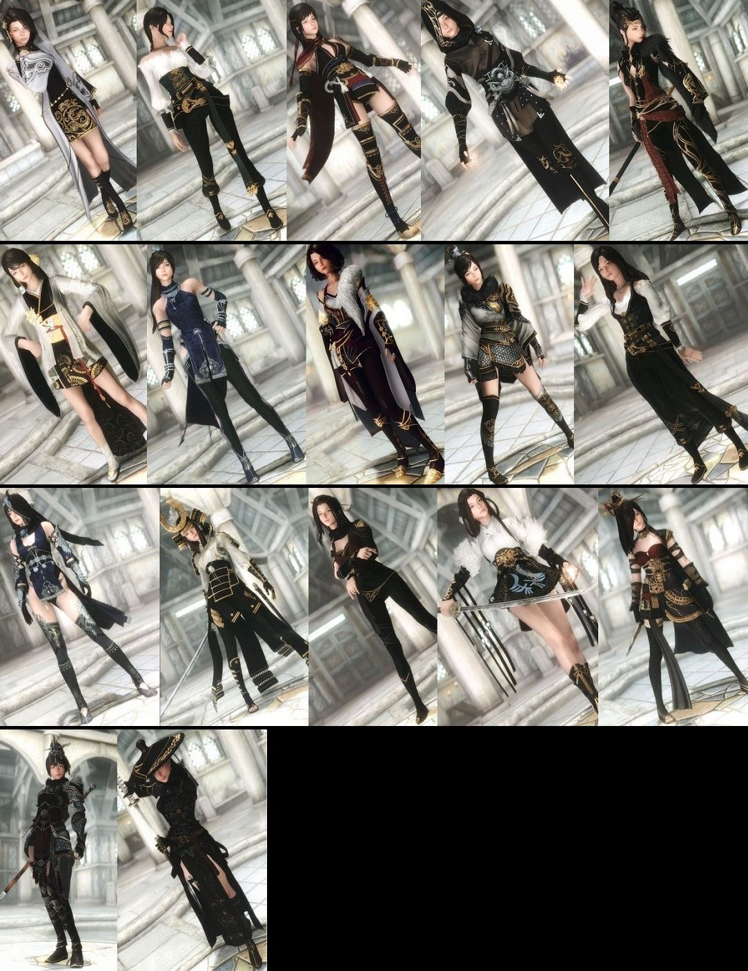 9204 MBO Pack by Team TAL [UNP/HDT Cloth] ~ Eskyrim