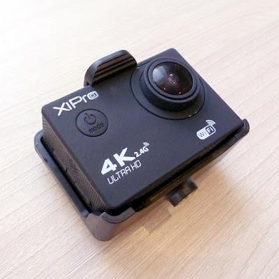Крепление камеры XiPro на голову
