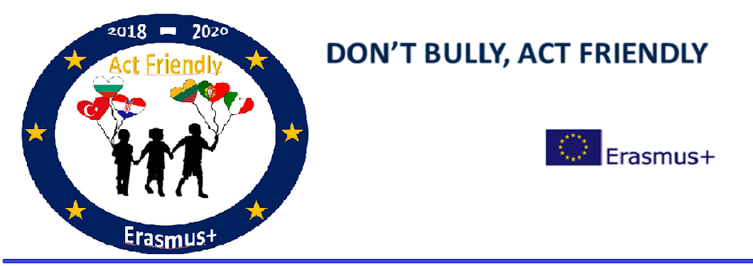 Don`t Bully, Act Friendly