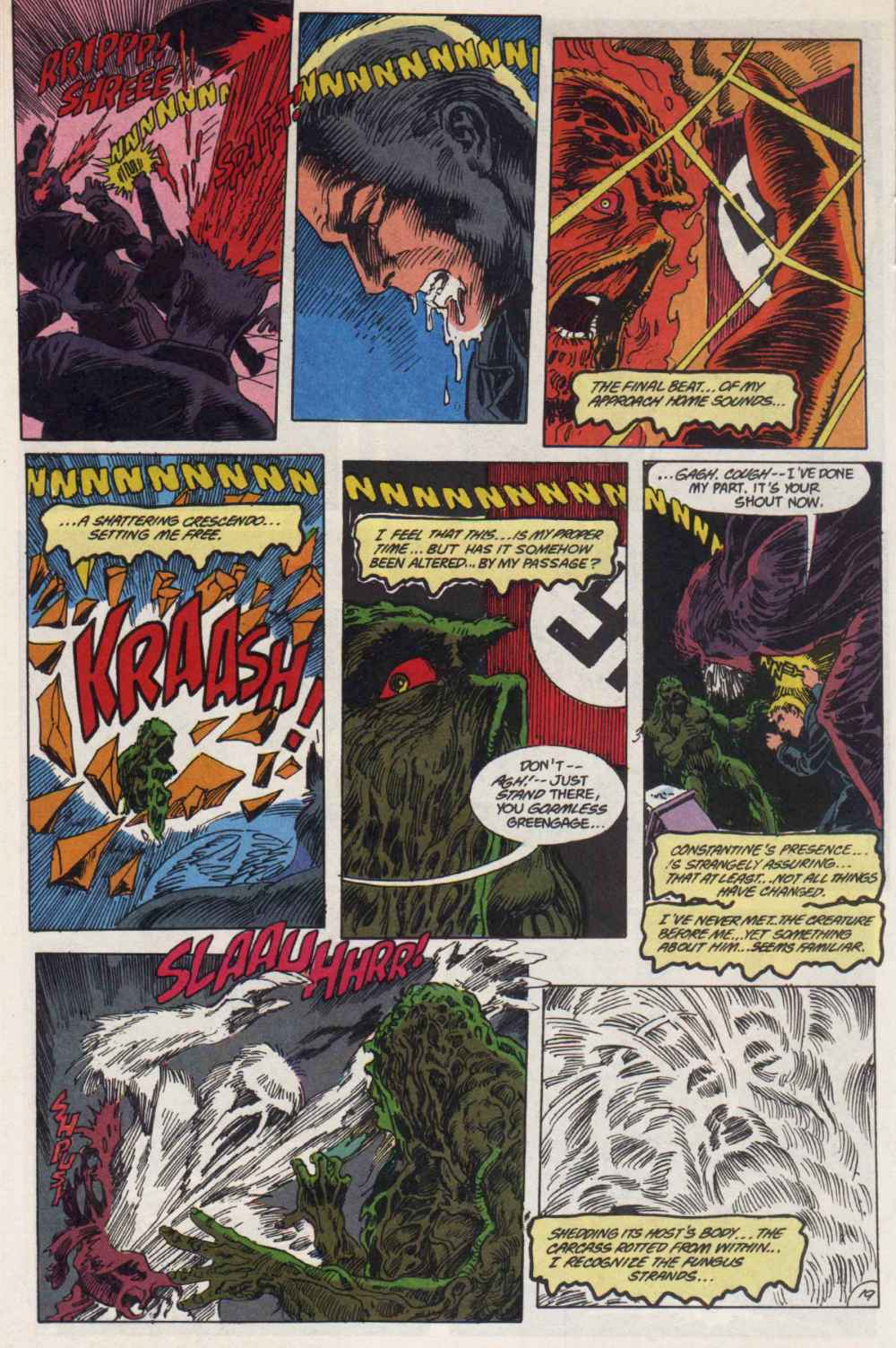 Swamp Thing (1982) Issue #90 #98 - English 19