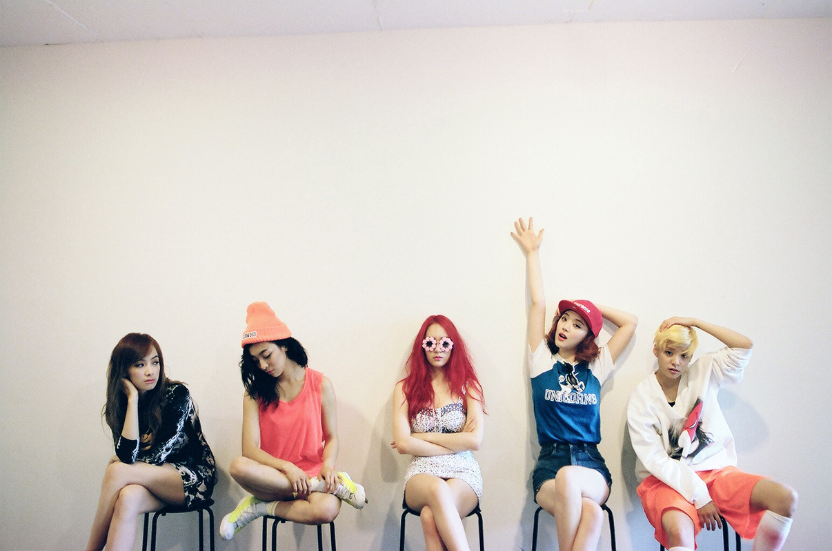 [MUSIC ALBUM REVIEW] f(x) - Pink Tape & Brown Eyed Girls ... F(x) Amber Pink Tape