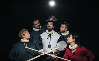 """""""Δον Κιχώτης"""" του Μιχαήλ Θερβάντες, από την Εταιρεία Θεάτρου Θέση, σε σκηνοθεσία Ταξιάρχη Χάνου."""