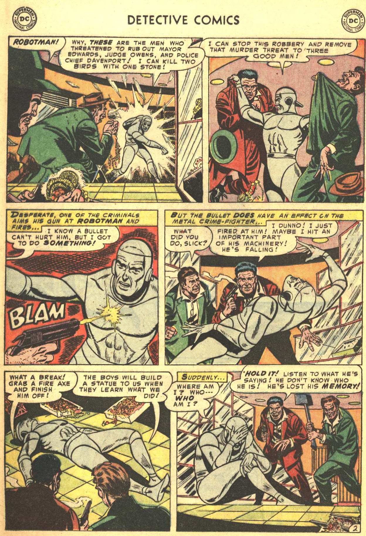 Detective Comics (1937) 198 Page 17