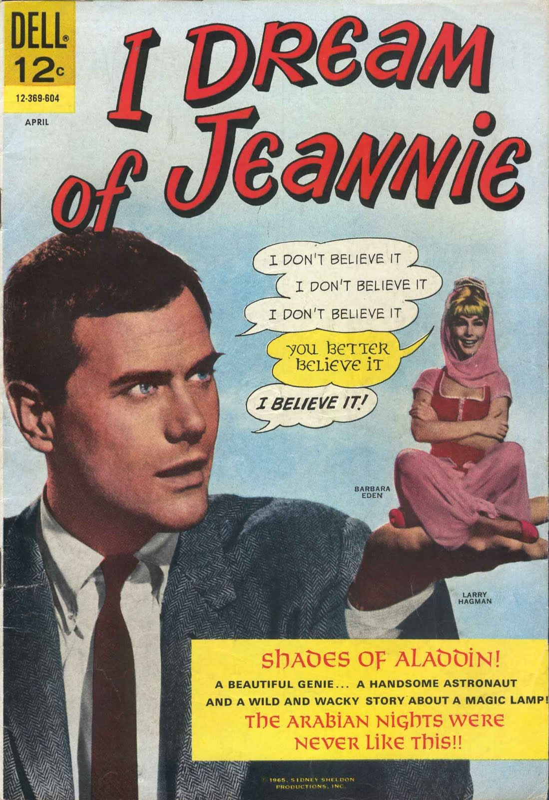 JEANNIE É UM GÊNIO (I DREAM OF JEANNIE)