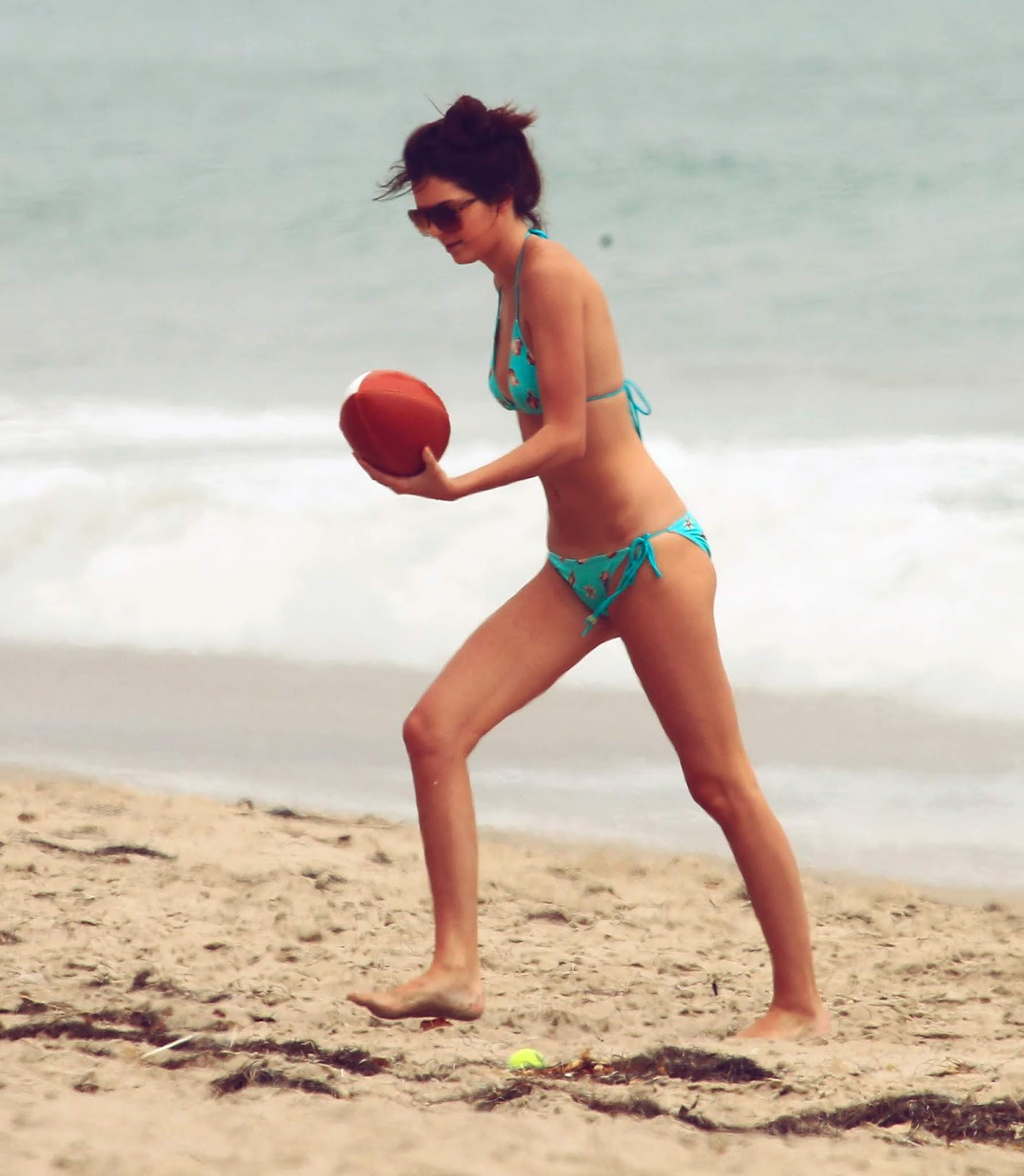 18 - At a Beach with friends in Malibu California on July 14, 2012