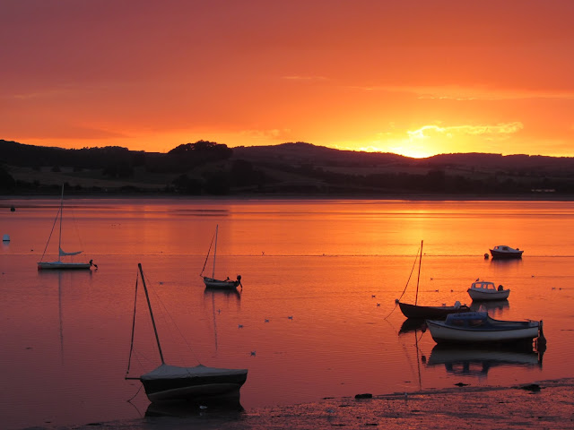 Sunsets from Lympstone