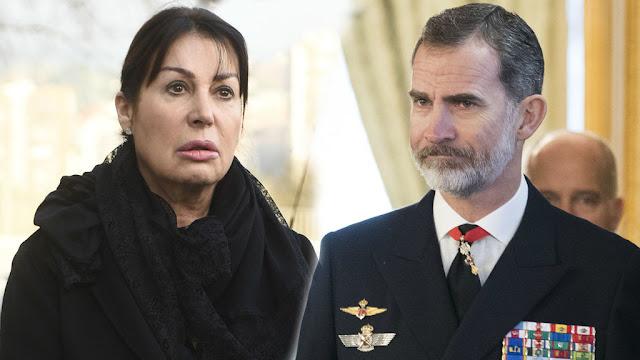 Carmen Martínez Bordiú y Felipe VI