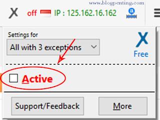 Active VPN