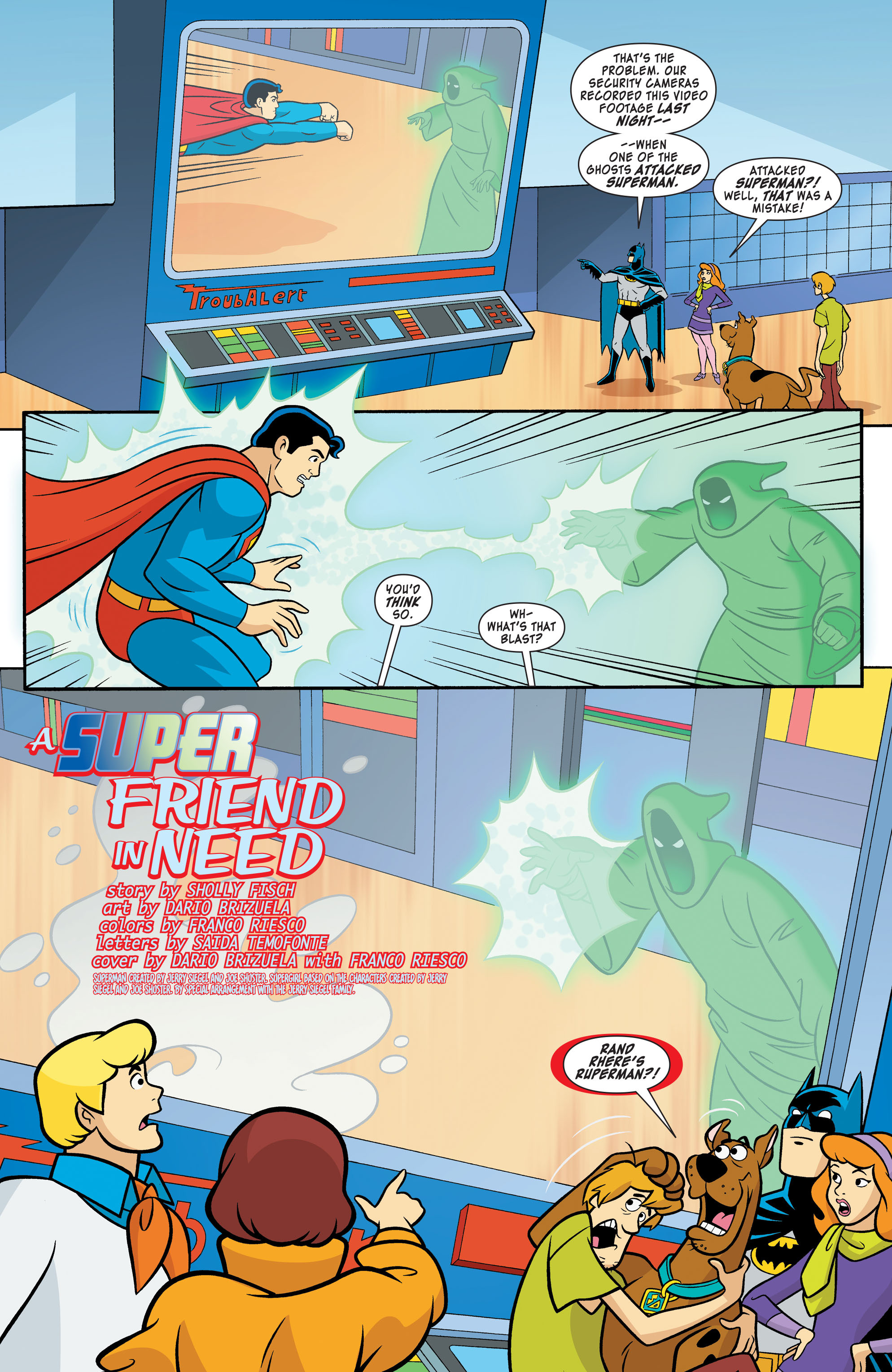 Read online Scooby-Doo! Team-Up comic -  Issue # _Special - 15