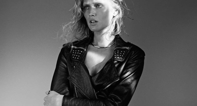 toni garrn by benjamin lennox for l'express styles february 2016