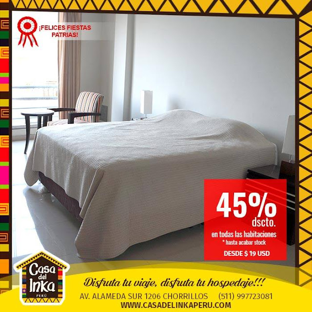 Hoteles turisticos ubicados en Chorrillos, Lima