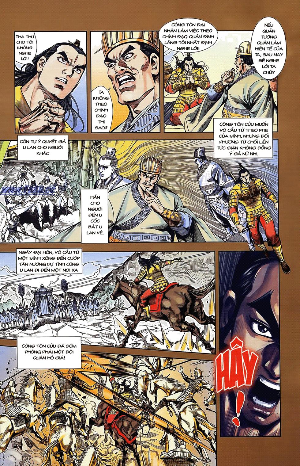 Tần Vương Doanh Chính chapter 14 trang 8